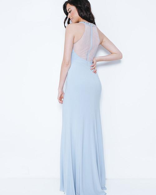 Chrishanuna Ice Blue Long Dress 1023408