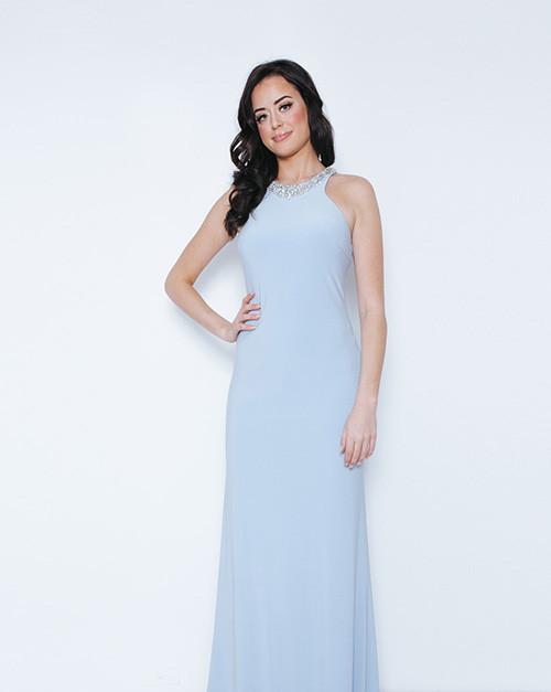 nasty London | Chrishanuna Ice Blue Long Dress 1023408