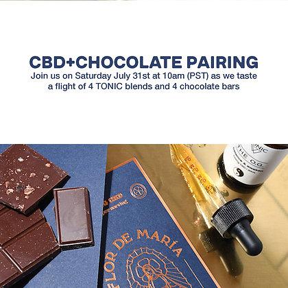 TONIC + CHOCOLATE PAIRING