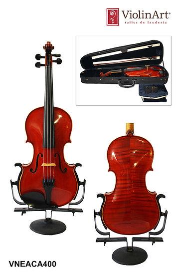 Violín ViolinArt® con estuche, arco y brea, VNEACA400