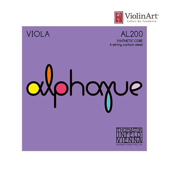 Juego de cuerdas va Thomastik Alphayue, AL200