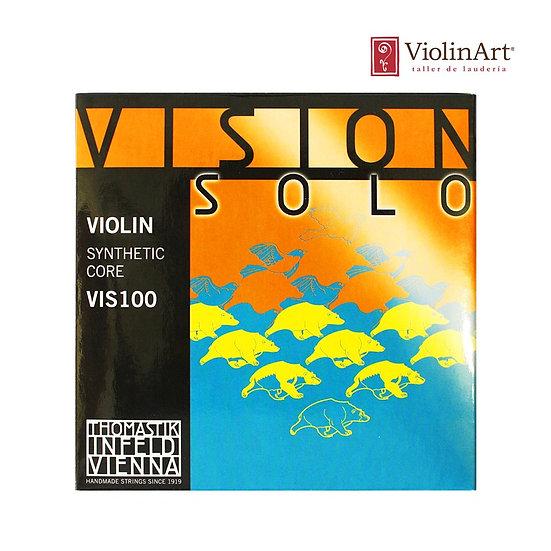 Juego de cuerdas vn Thomastik Vision Solo, VIS100