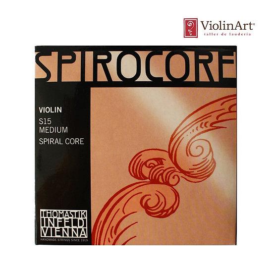 Juego de cuerdas vn Thomastik Spirocore, S15