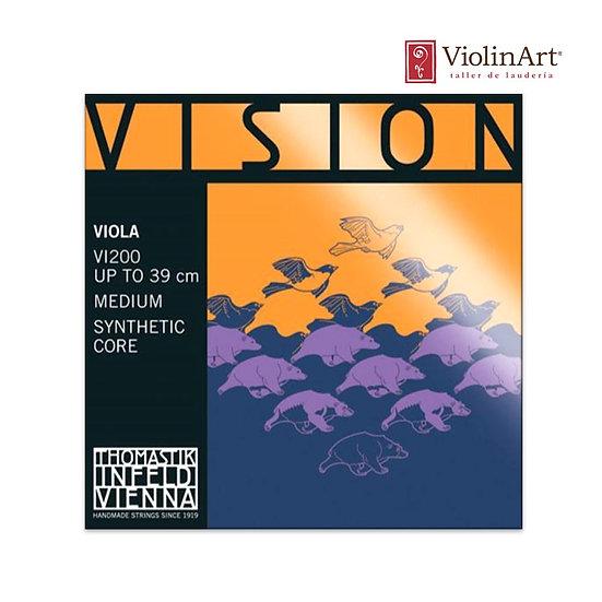 Juego de cuerdas va Thomastik Vision, VI200