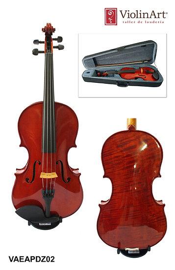 Viola ViolinArt®, con estuche, arco y brea, VAEAPDZ02