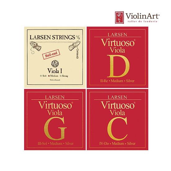 Juego de cuerdas va Larsen Virtuoso, LV5520