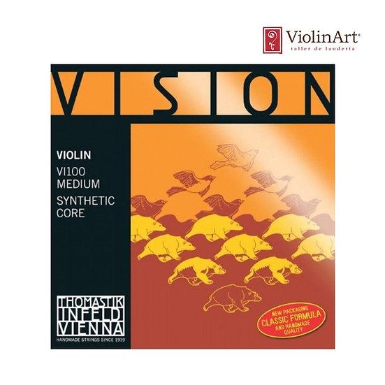 Juego de cuerdas vn Thomastik Vision, VI100