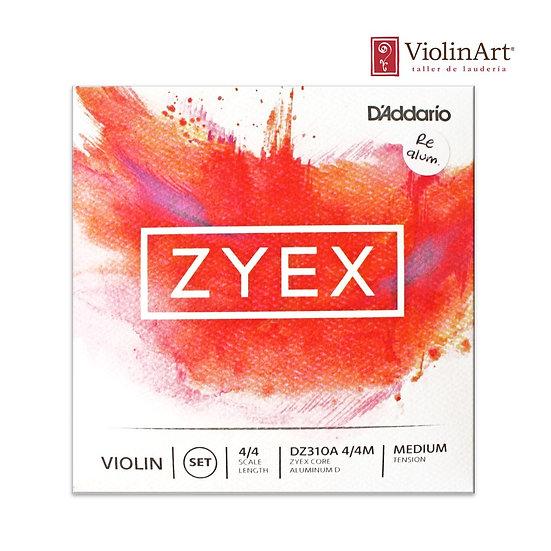 Juego de cuerdas vn D'Addario Zyex RE alum., DZ310A
