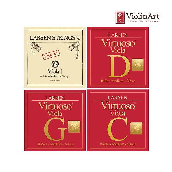 Juego de cuerdas va Larsen Virtuoso Soloist, LVS5520