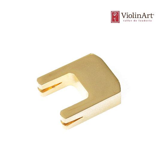 Sordina de metal dorada, vc
