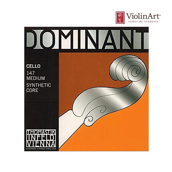 Juego de cuerdas vc Thomastik Dominant, 147