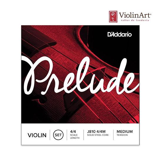 Juego de cuerdas vn D'Addario Prelude, J810