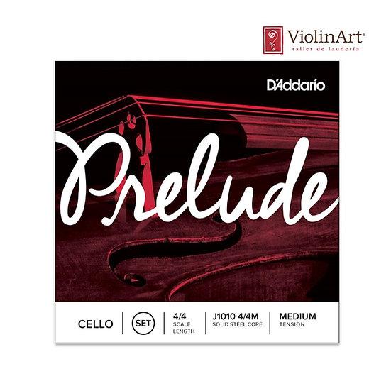 Juego de cuerdas vc D'Addario Prelude, J1010