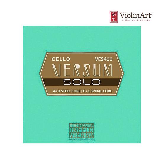Juego de cuerdas vc Thomastik Versum Solo, VES400