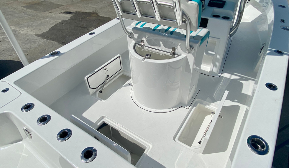 Aft In-Deck Insulated Boxes