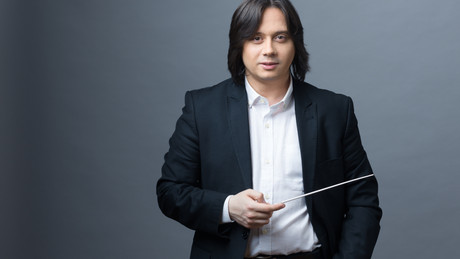 Gabriel Bebeșelea Music Director & Chief Conductor of the Philharmonic Orchestra of North Macedonia