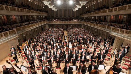 Michael Sanderling with the Konzerthausorchester Berlin