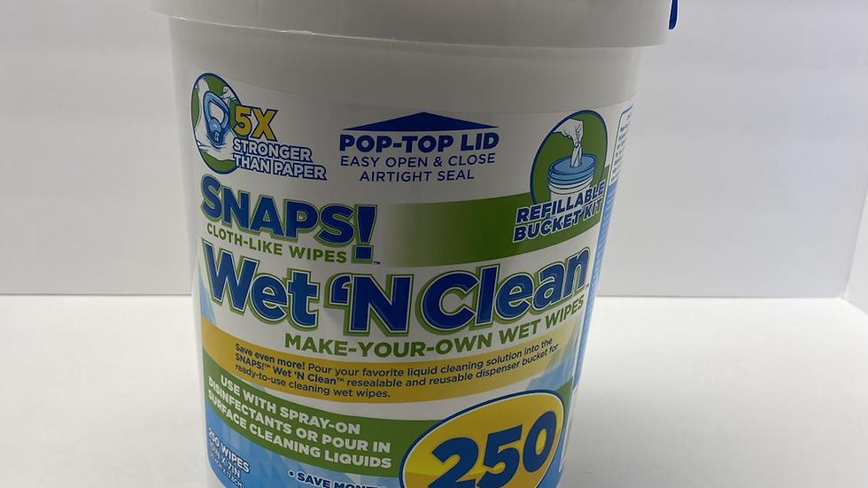 SNAPS 250 Wet 'N Clean