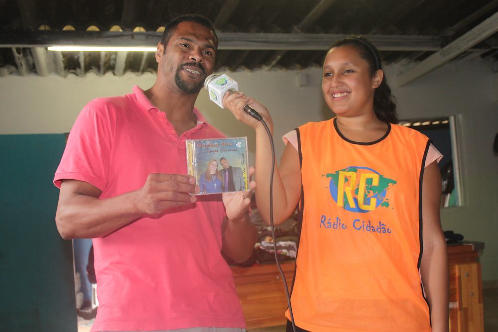 ONG Pequeno Cidadão - Emeb Edson Danilo Dotto - Rádio Cidadão - Tvradio Cidadão - ong no abc - ong em são bernardo - premio itau unicef - itau social