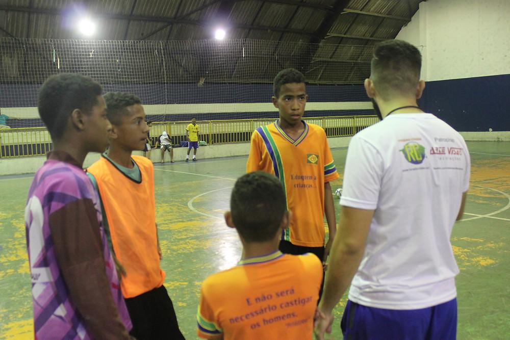 Prosperidade Futsal - amistoso entre amigos - Ong Pequeno Cidadão SBC