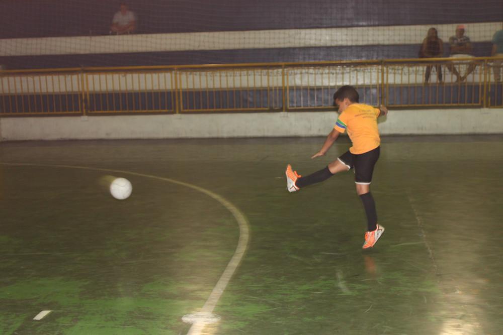 Prosperidade Futsal - amistoso entre amigos - Ong Pequeno Cidadão SBC - Arte Visão Decorações