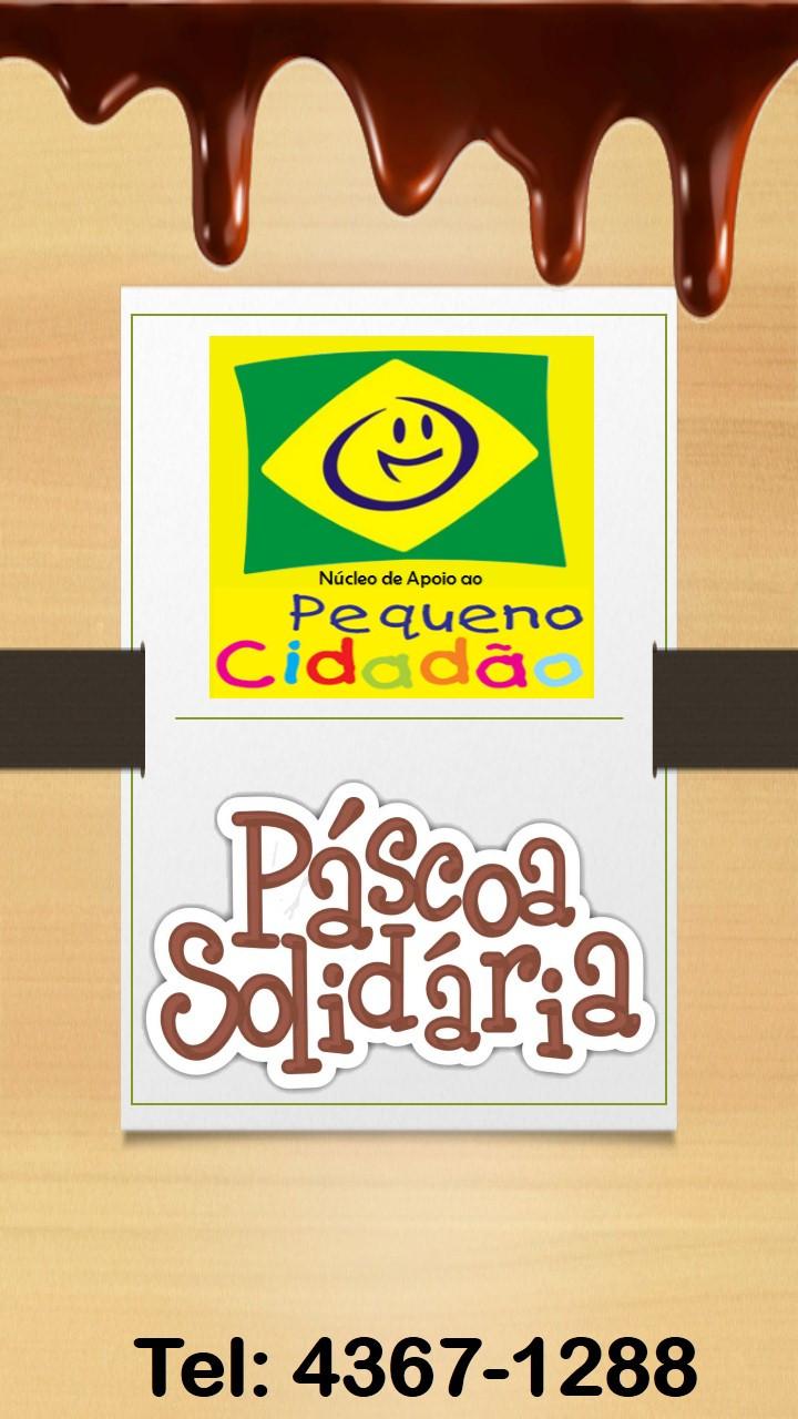 OVOS DE PASCOA - PASCOA SOLIDARIA - ONG PEQUENO CIDADÃO - ONG NO ABC - ONG EM SÃO BERNARDO DO CAMPO - PASCOA