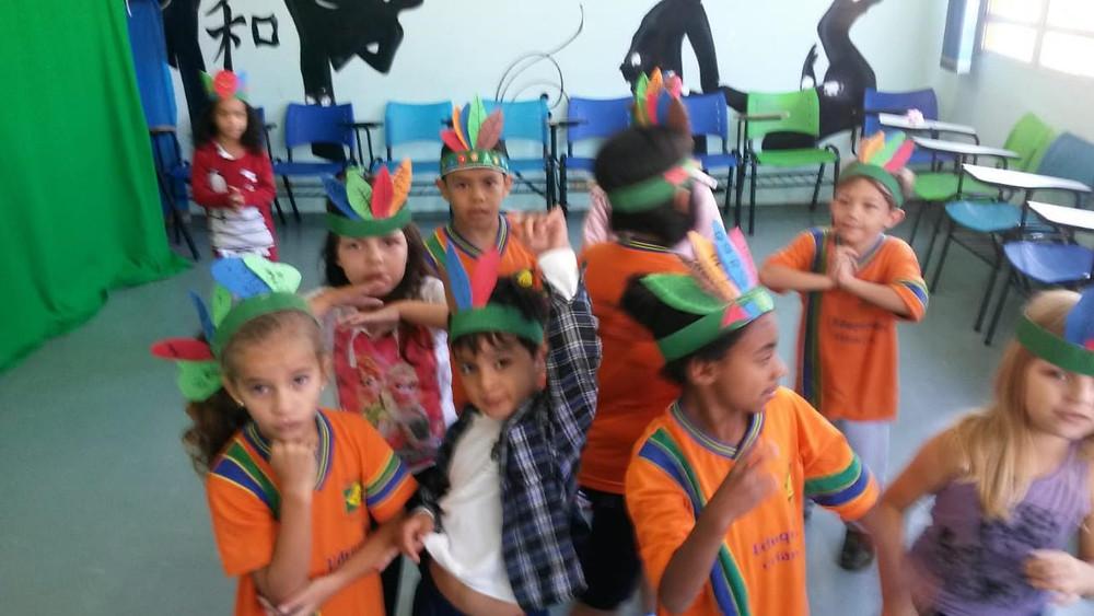dia do índio - atividade para o dia do índio - ong pequeno cidadão - ong no abcd - radio cidadão