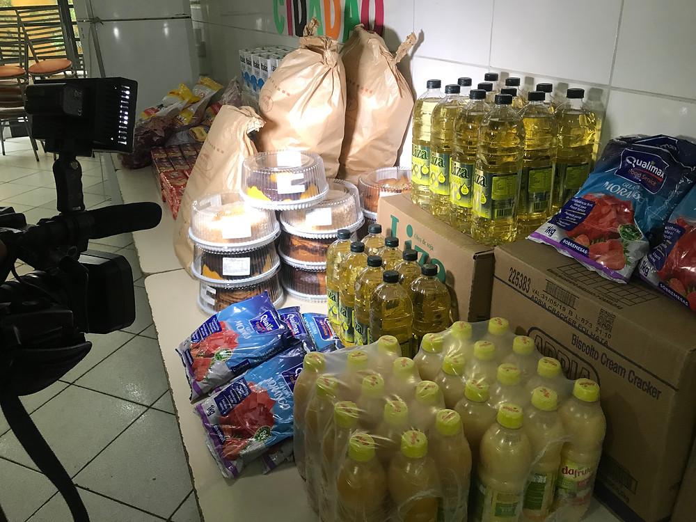 panificadora kennedy - ong pequeno cidadão - doação de alimentos - quero ser voluntario - onde fazer doação - Programa Click Noite - tV+ Abc