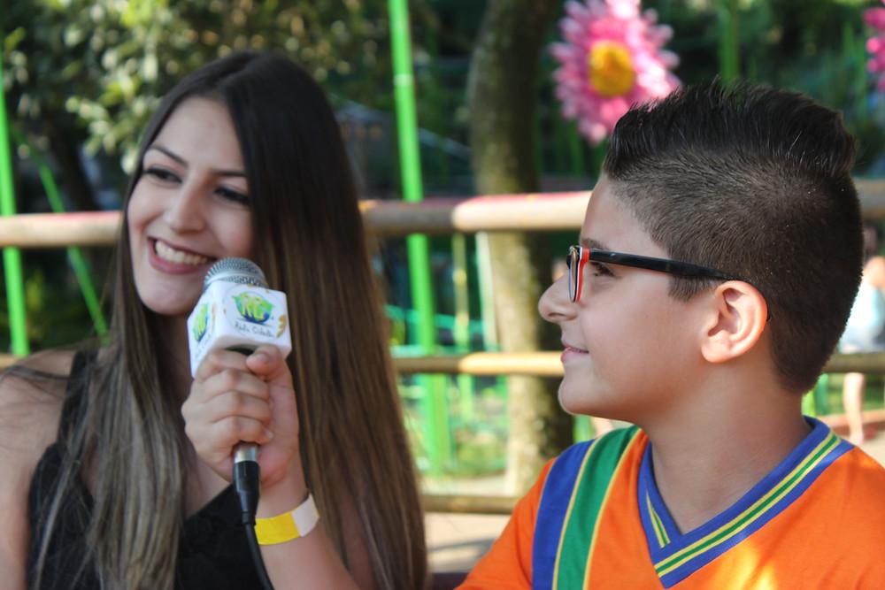 Projeto TV Rádio Cidadão - Jhonatas Cruz - ONG Pequeno Cidadão