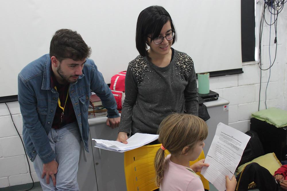 Larissa Faria - Gabriel Justo - ong pequeno cidadão - oficina de jornalismo - jornalismo - ong abcd - ong em são bernardo do campo - voluntário - como ser voluntário - onde ser voluntário