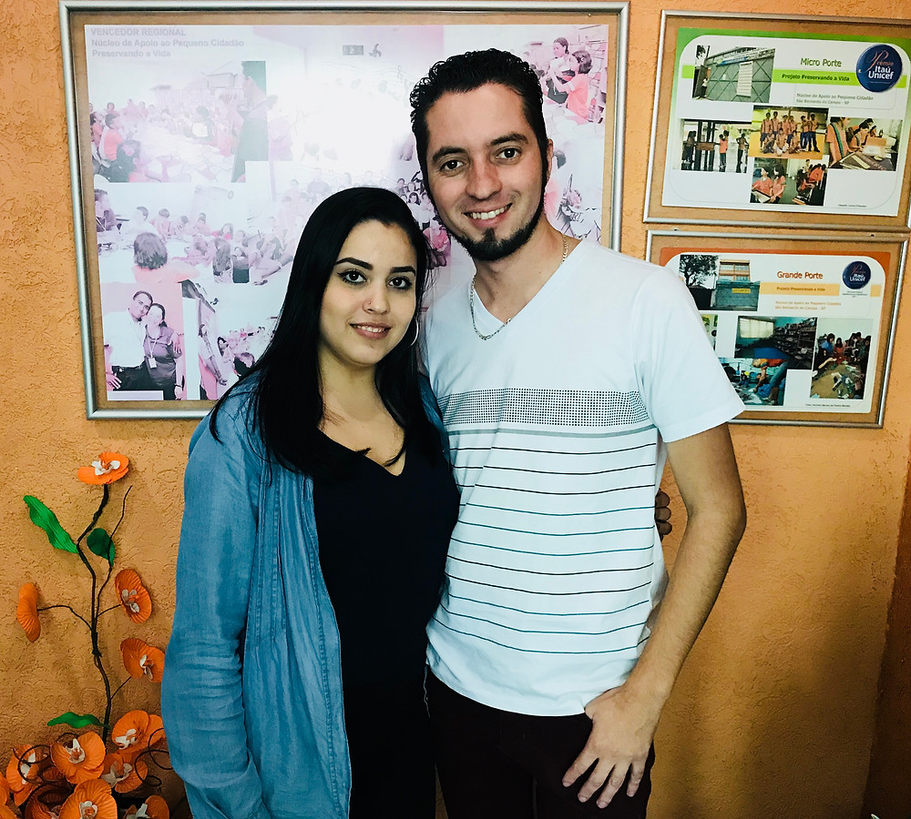 Thalita e Adriano Lima