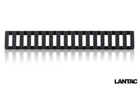 """Magpul Low Profile Picatinny Rail Cover 6-1/2"""" Polymer BLK"""