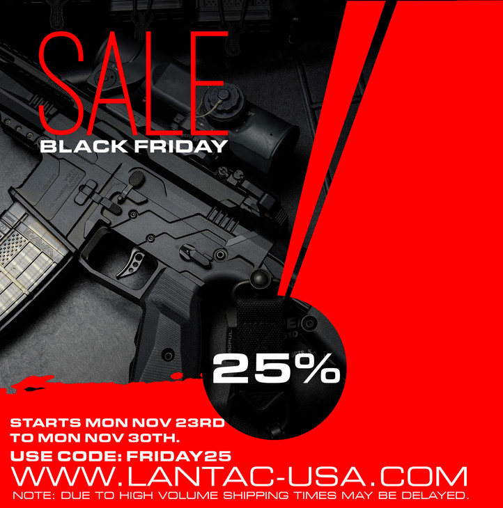Lantac's Black Friday sale starts today...