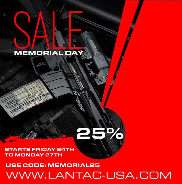 LANTAC Memorial Day Sale