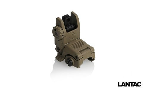 Magpul MBUS Gen2 Flip Up Rear Sight FDE