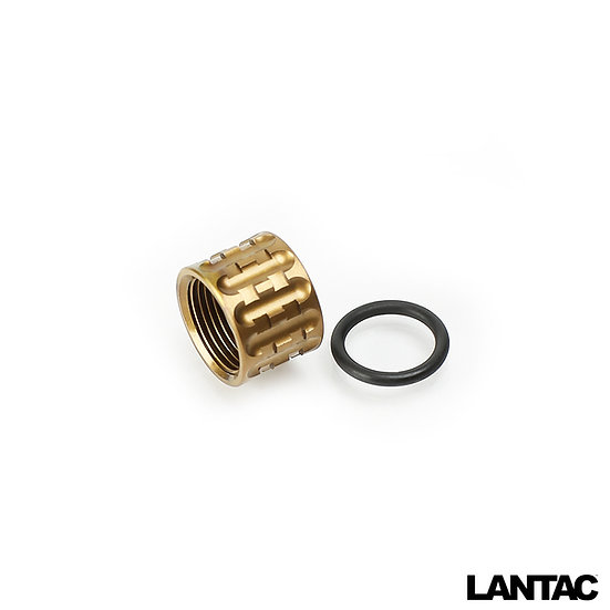 TP-Pro Knurled Thread Protector Bronze TiALN
