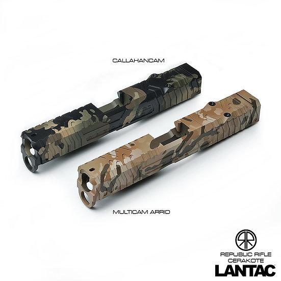 Razorback™ Glock G19 Stripped Camo Slides