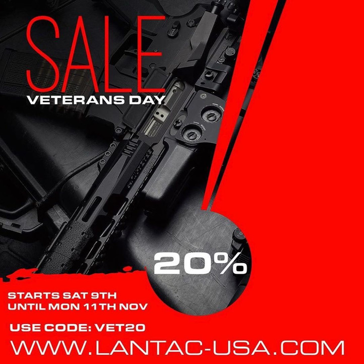 Lantac Veterans Day Sale...
