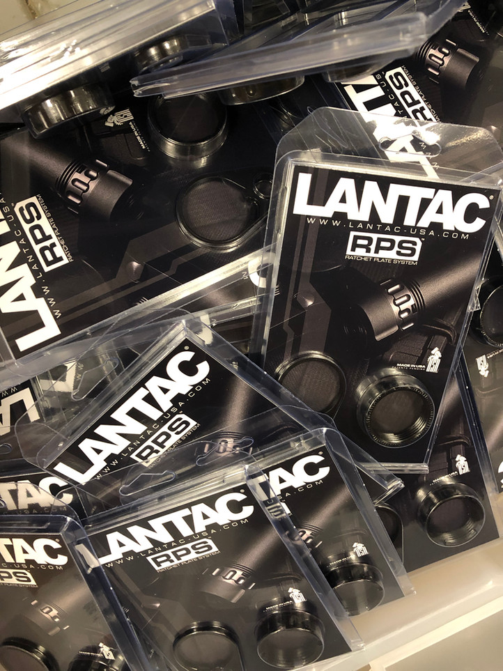 New RPS™ (Ratchet Plate System) are in stock & ready to ship.