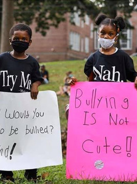 African American Family Organized a Protest in Response to Racial Bullying
