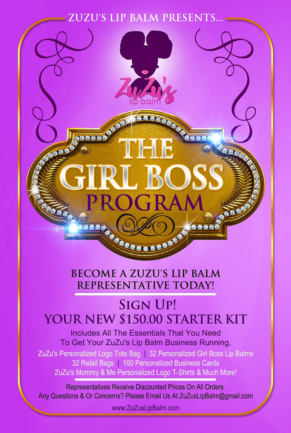 The Girl Boss Program Flyer