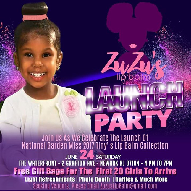 ZuZu's Lip Balm Launch Party