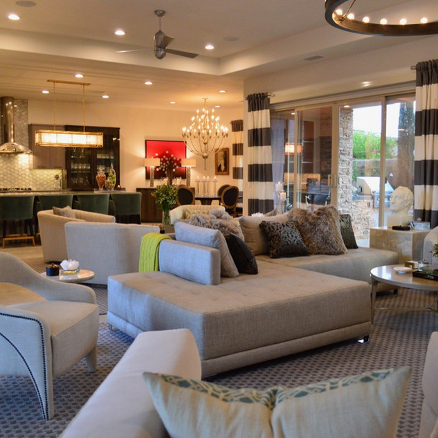 Living Room, Kitchen, Dining Room – Palm Springs, CA