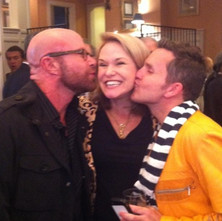 Beau, Libby Langdon and Dann Architectural Digest Party, High Point Market