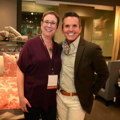 Dann Foley and Nancy Reib of Wildcat Territory Wildcat Territory Showroom, Las Vegas Market, Spring 2015