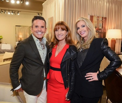 Dann Foley with Jane Seymour and Donna Moss  Las Vegas Market, Spring 2015