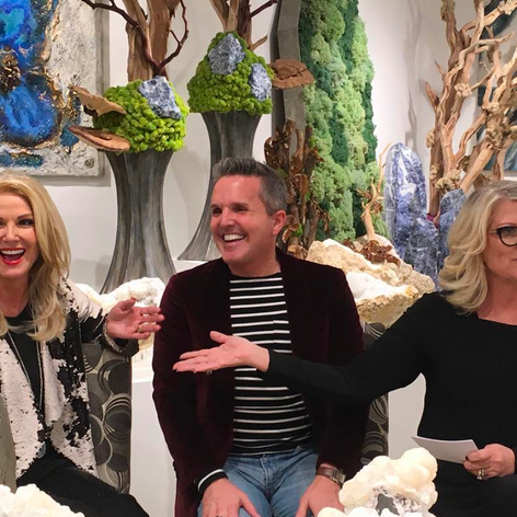 Dallas Market Center, The Botanical Mix Showroom, Winter 2018 Donna Moss, Dann Foley, Kristi Hopper