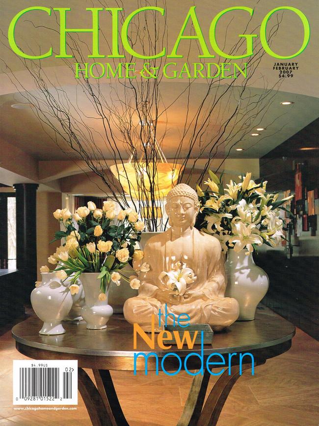 Chicago Home & Garden Cover
