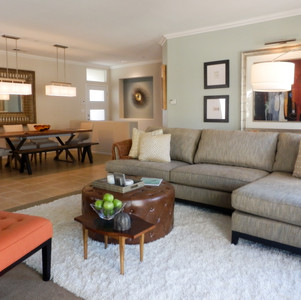 Living and Dining Rooms – Palm Springs, CA