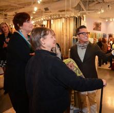 Dann Foley with Kennebunk Home at Las Vegas Market Loloi Rugs showroom, Las Vegas Market, Spring 2015